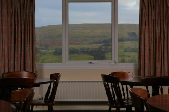 YHA Hawes: View from the dining room