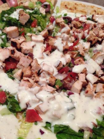 Christopher's a Neighborhood Place : Souvlaki Pizza