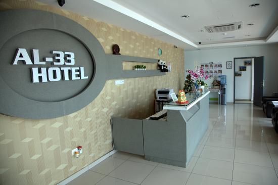 AL-33 Hotel Melaka: Lobby