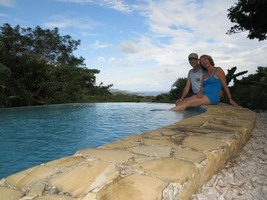 Agua Vista: Main Pool near sunset