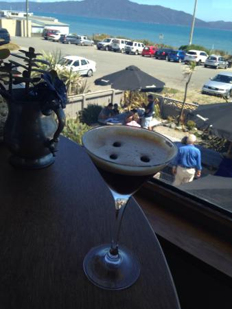 Waimea Restaurant: Espresso Martini.  I could get into serious trouble with this . Yum !