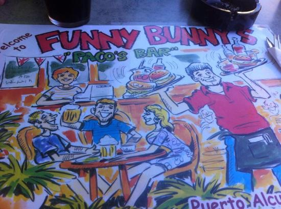 Paco's Bar Funny Bunny's: Love this place