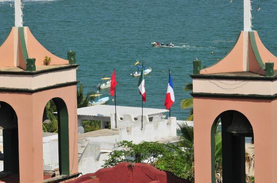 Hotel Rivera del Mar: vista desde la habitación