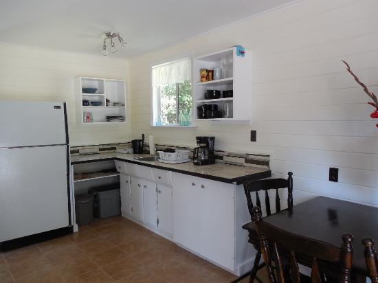 Denman Island, แคนาดา: kitchen