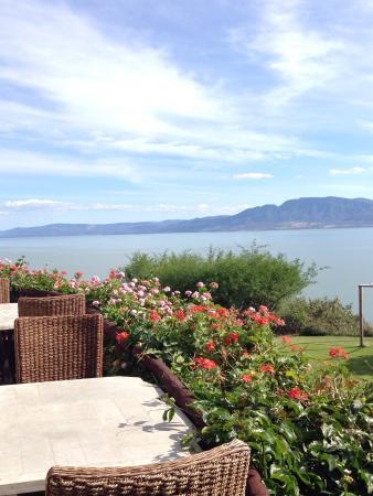 Monte Coxala Spa: Vista desde el restaurant Las Caballerizas