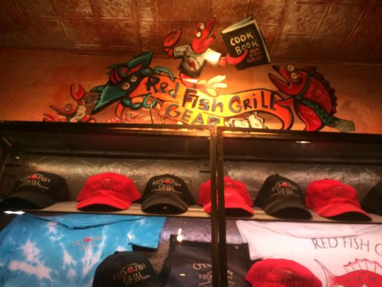 Red fish grill for Red fish grill new orleans