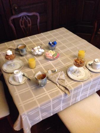 The Windover Inn Bed & Breakfast: Our yummy breakfast - just a starter