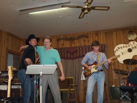 Panhandle Opry: Having fun on stage