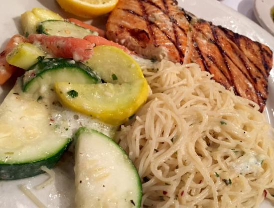 Zio S Italian Kitchen Grilled Salmon