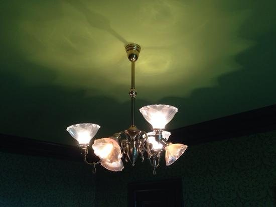 Chandeliers in the music room at pittock mansion picture of light fixture at pittock mansion aloadofball Gallery