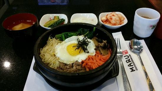 Maru Korean BBQ & Grill: DolSotBiBimBap - Good portion!