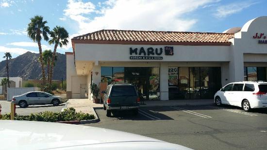 Maru Korean BBQ & Grill: The outside is clean
