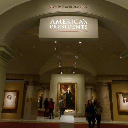 National Portrait Gallery: America's Presidents Room