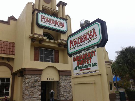 La Ponderosa Restaurant Orlando