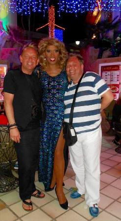 Pieros Music Cafe: Miss Diva Chanel and her Benidorm babes lol