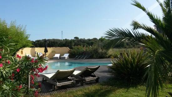 Baho, França: piscine