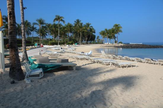 Fairmont Orchid Hawaii Private Beach