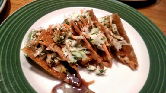 Ukiah, Καλιφόρνια: Won ton tacos