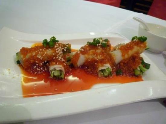 Pin Chuan (Taojiang): 野菜の豚肉巻