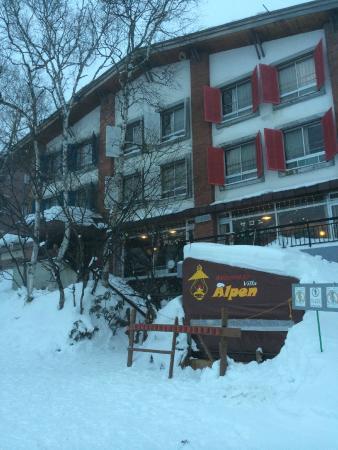 exterior of Villa Alpen