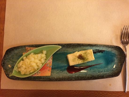 Restaurant Japonais Kiyomizu: Sesame beancurd