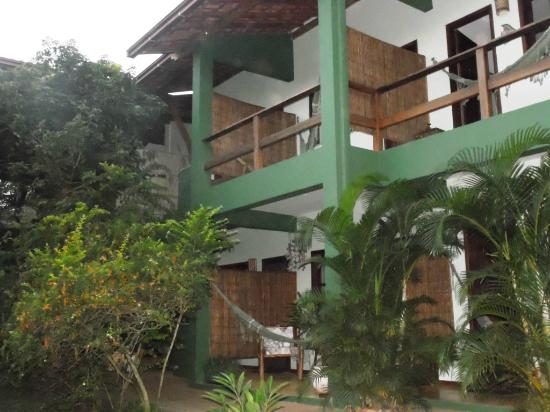 Pousada Vila dos Passaros: Vista dos quartos