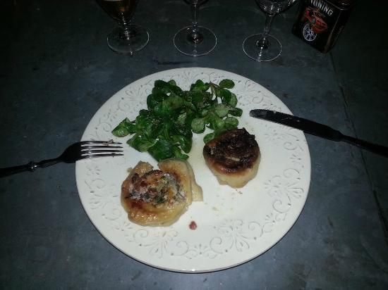 Chez Jeanmyvonne : Un des plats d'Erick (excellent)