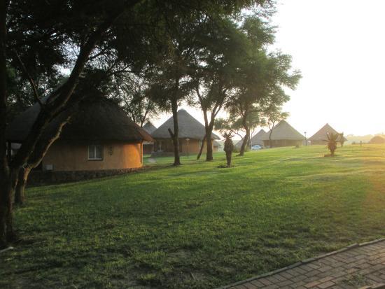 Heia Safari Ranch: sunrise 5 am