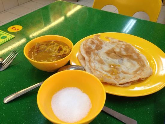 Roti prata picture of al ameen eating corner singapore for Roti food bar