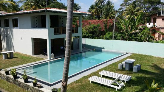 Handagedara Resort: Вид из номера 34 на 2м этаже