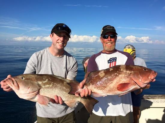 Paradise Fishing Charters : Just two of many!!
