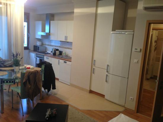 Central Passage Budapest Apartments : Kitchen