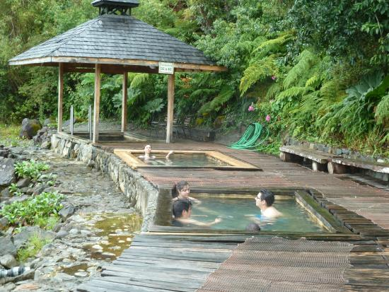 Puyuhuapi, Χιλή: Pools in Termas del Ventisquero