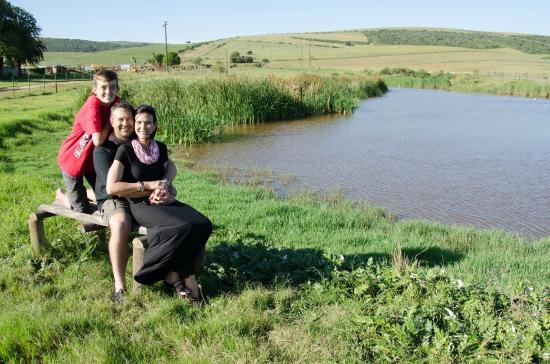 Nanaga, Sudafrica: Lezl, Johan and Reinhard van Niekerk