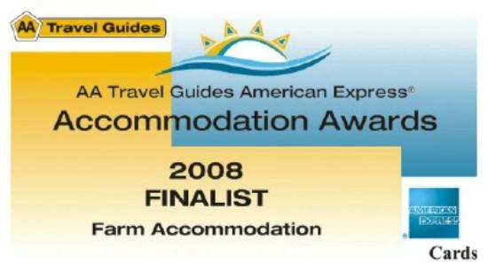 The Green Tree Guest Cottages: AA accommodation Awards 2009