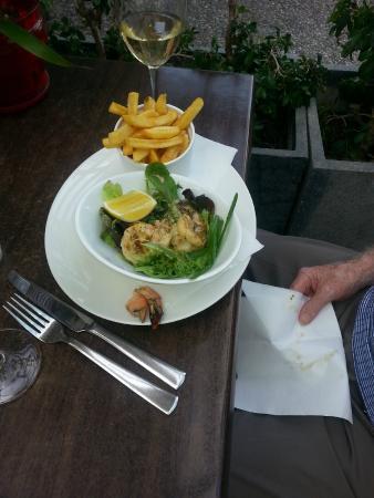 Wahoo Seafood Restaurant and Take-away: Garlic Prawns
