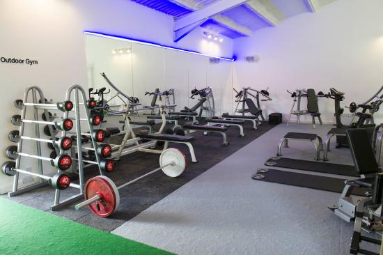Blockley, UK: Personal Training Area
