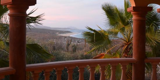 Villa del Faro: View at Dusk
