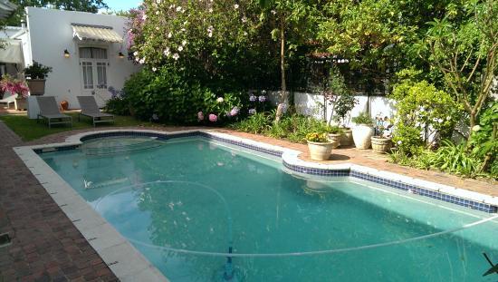 22 Die Laan Guest House : The pool area