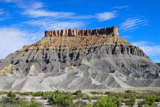 Green River, UT: Factory Butte off Routh 24