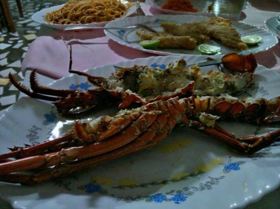 La Passe: Abendessen