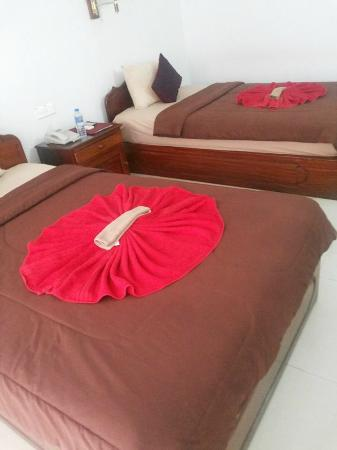 Mom's Guesthouse : Cozy and clean beds