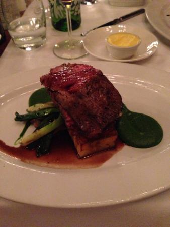 The Square Restaurant: Jantar