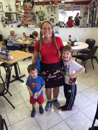 Lily's Cafe: Our boys loved meeting Ms Lily!!! We live far away and they continually ask to go back - may nee