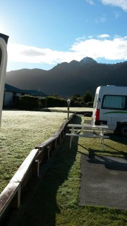 Franz Josef TOP 10 Holiday Park: View from the campsite
