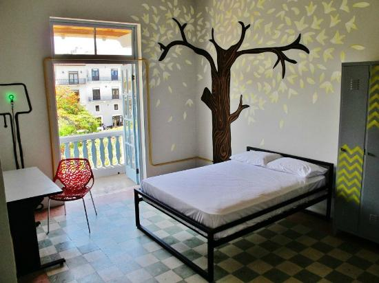 Panamericana Hostel: Private room with balcony