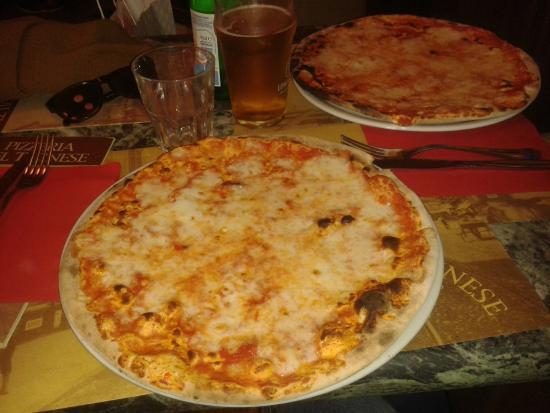 Pizzeria del Ticinese: pizza