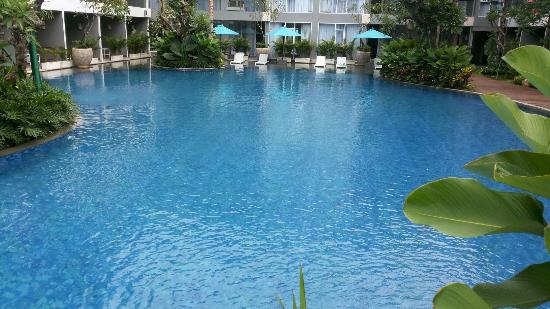 Large Swimming Pool Picture Of Ramada Encore Bali Seminyak Seminyak Tripadvisor