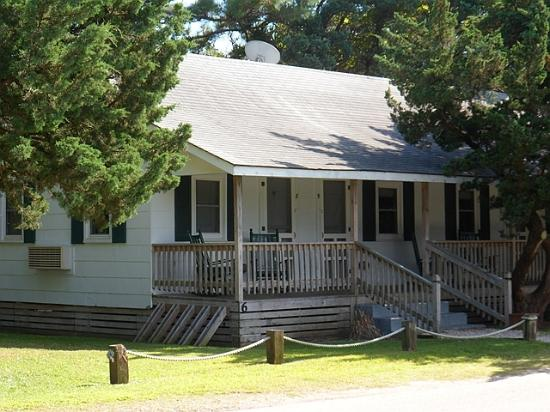 Edwards of Ocracoke: Our bungalow was so cute!