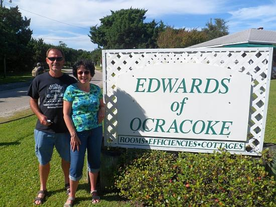 Edwards of Ocracoke: The nice pic taken by office mgmt!